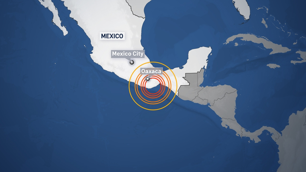 Oaxaca Mexico Earthquake