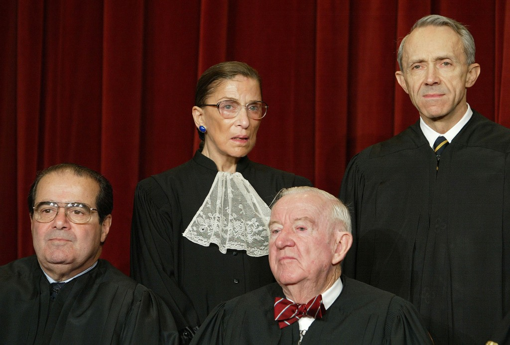 Aug. 10, 1994: Ruth Bader Ginsburg Joins Supreme Court