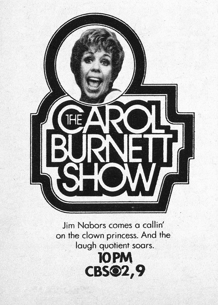A spot ad for the Monday night comedy: The Carol Burnett Show