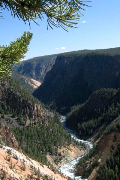 Travel Trip Yellowstone Trip