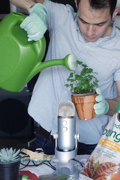 Gardening indoors