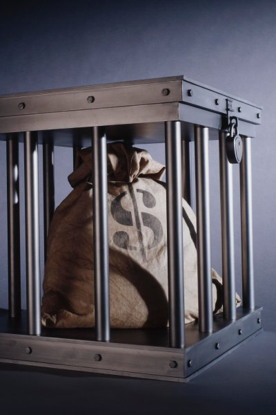PHI money in cage