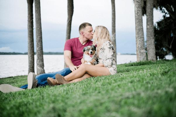 Colleen Corbitt and fiancé Shawn Ferris.