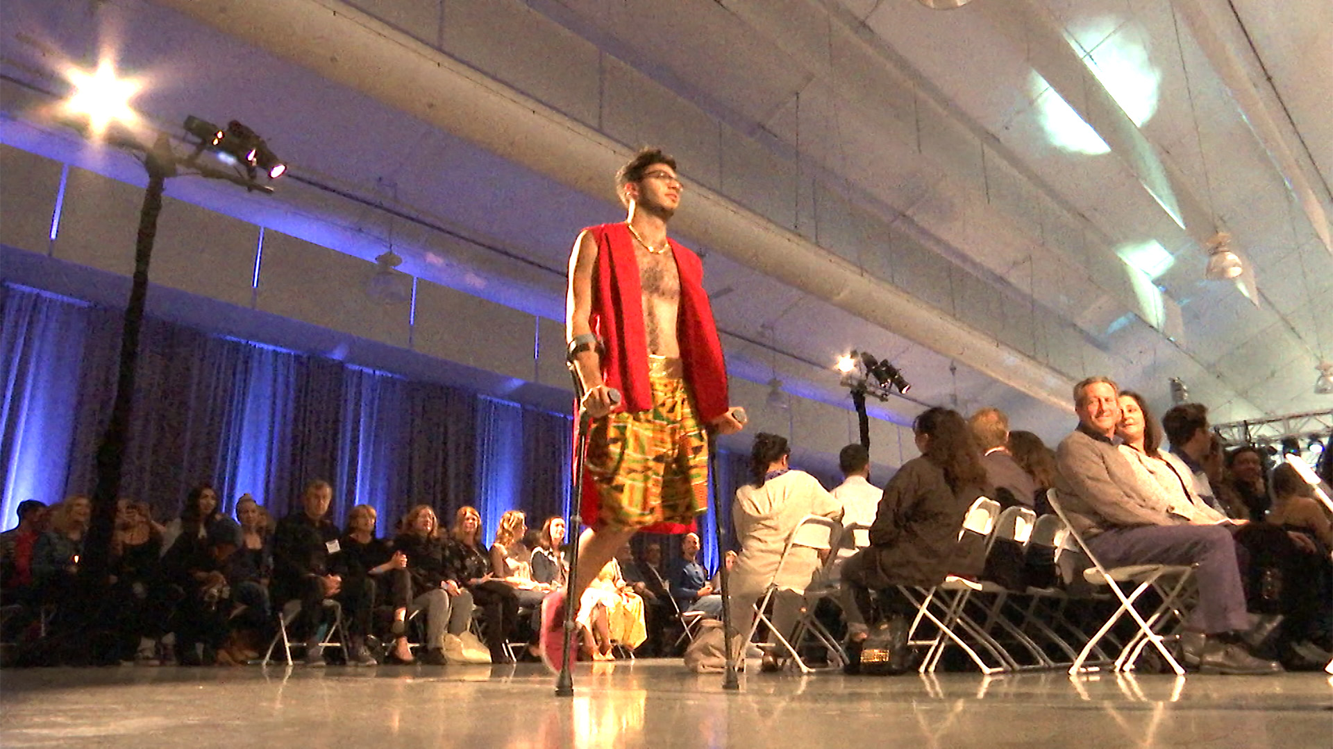Fashion Students Work With Disabled To Create Garments Designed To Better Their Lives Nbc Bay Area