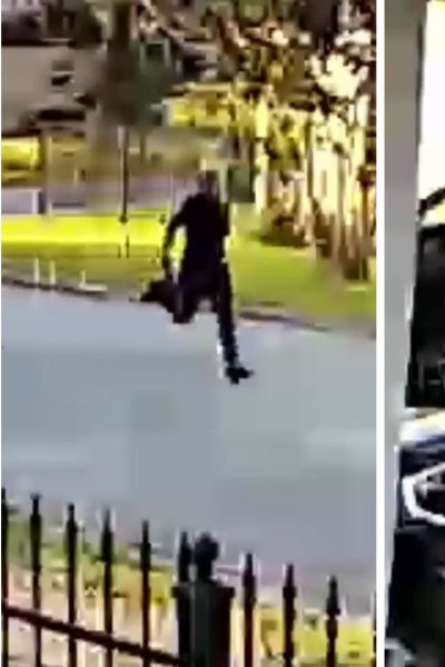 Robbery detectives in Houston want to find the purse snatcher seen on video attacking an 81-year-old woman and throwing her to the ground.
