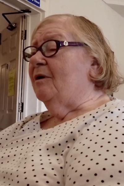 A nursing home patient