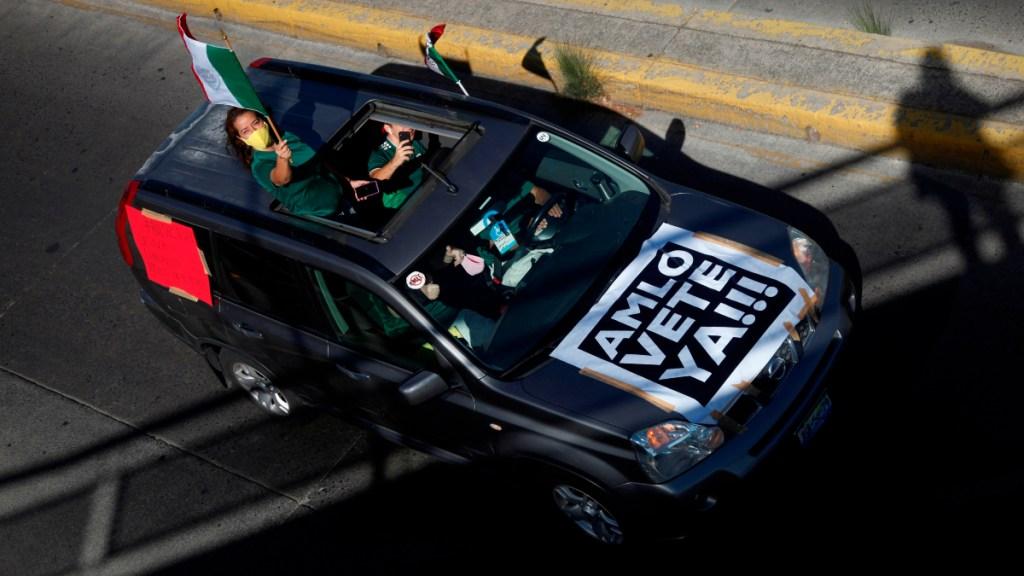 Protesta anti AMLO