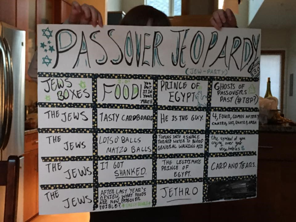 "Homemade game-board ""Jew-party"""