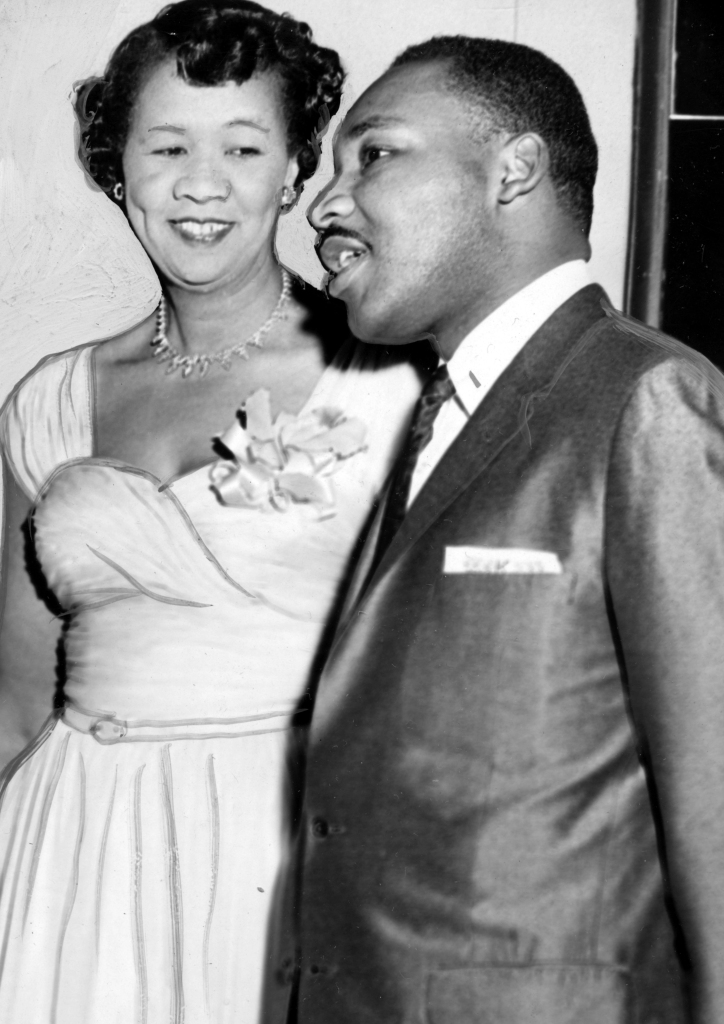 Dorothy Height and Martin Luther King Jr