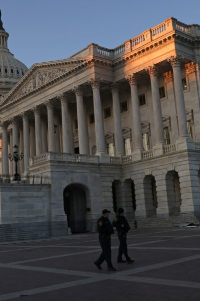 In this Jan. 7, 2021, file photo, the U.S. Capitol is seen in Washington, D.C.