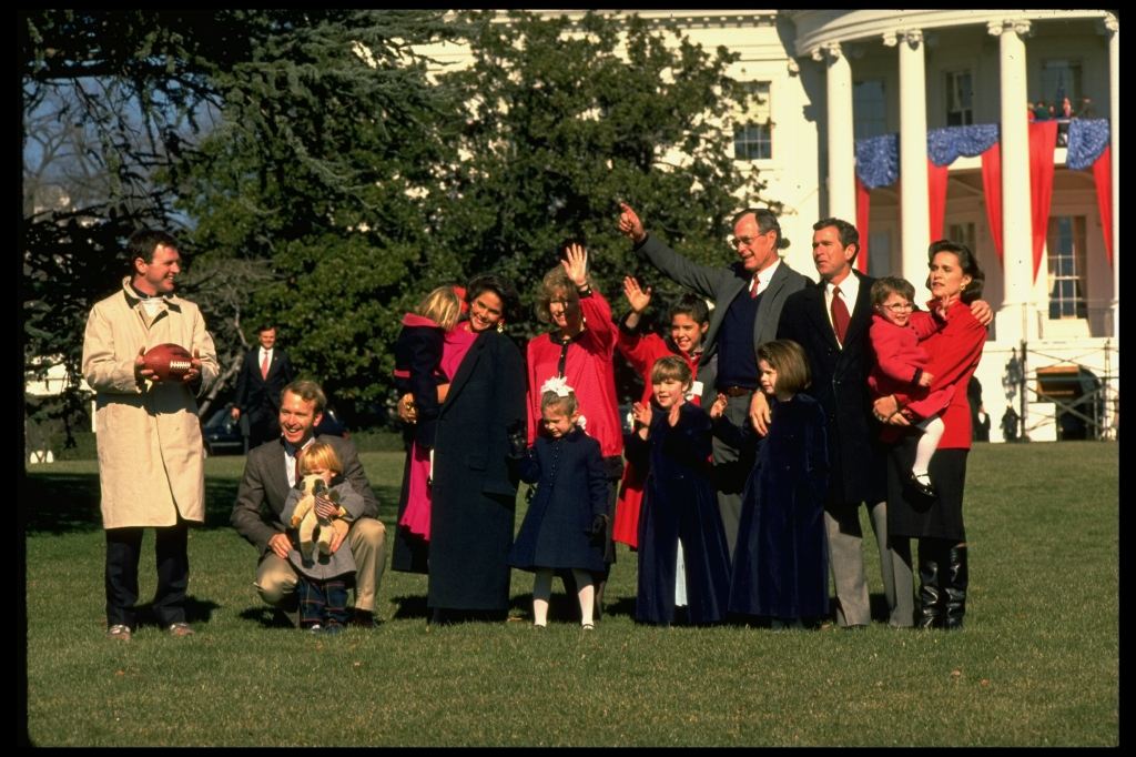 William Leblond [& Family];Dorothy W. Bush [& Family];George H. W. Bush [& Family];Sharon Bush [& Family];Margaret Bush [& Family];George W. Bush [& Family];Neil M. Bush [& Family];Mrs. Marvin P. Bush [& Family]
