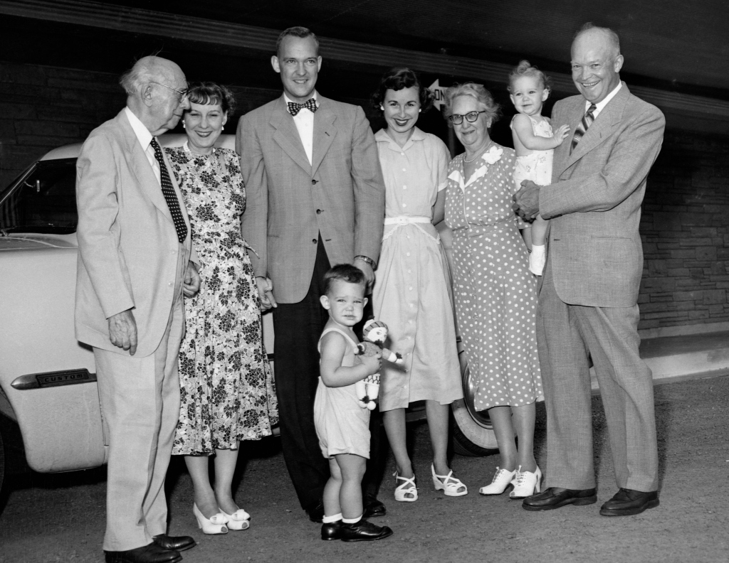 President Eisenhower And Family