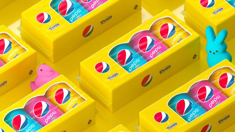 Peeps-flavored Pepsi