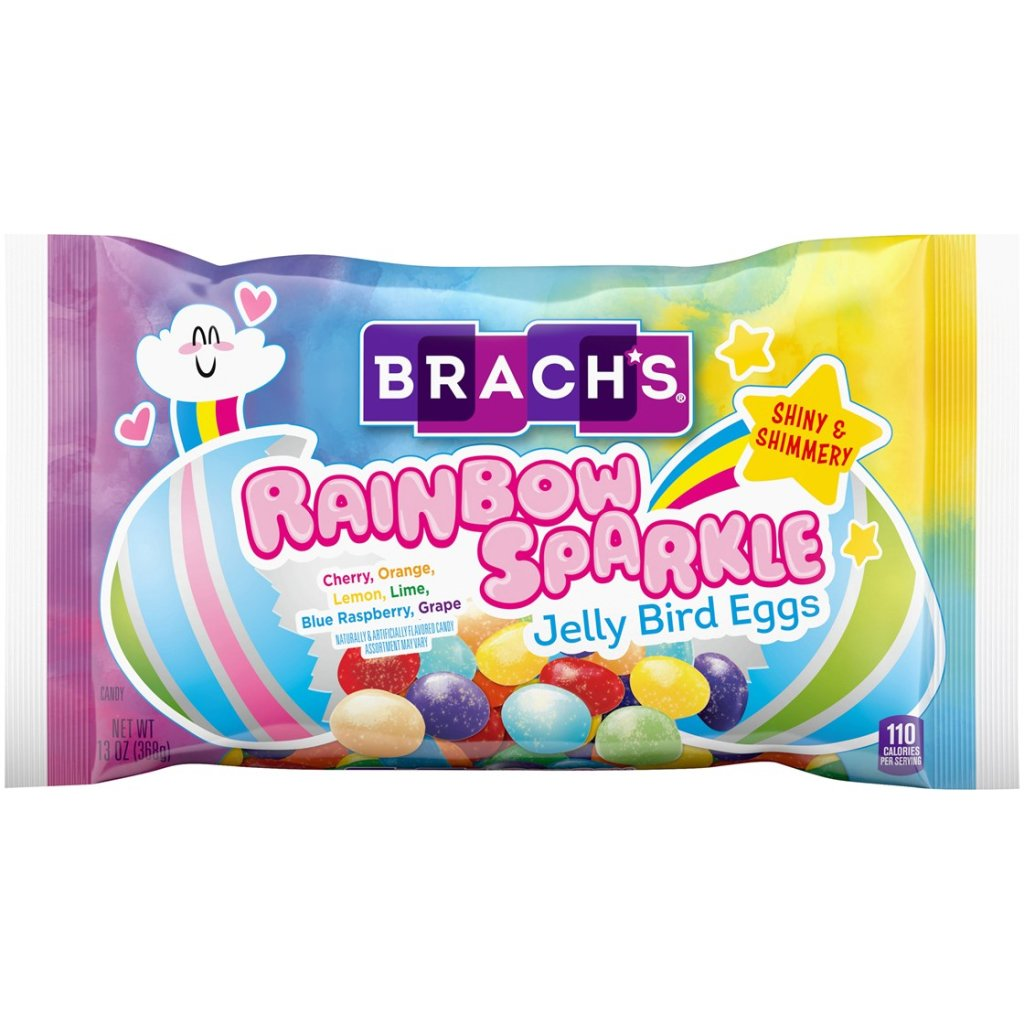 Brach's Rainbow Sparkle Jelly Bird Eggs.