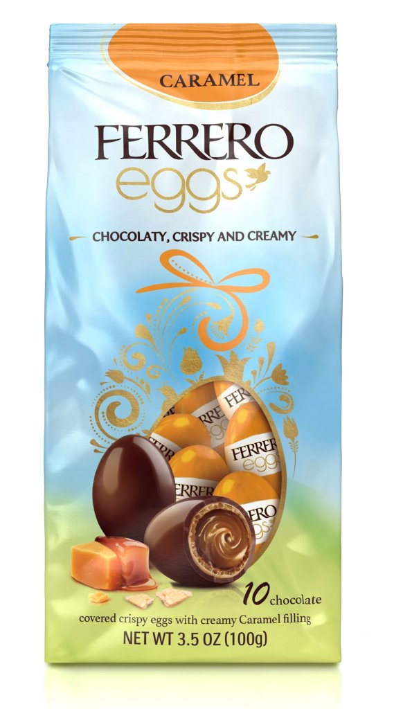 Ferrero Caramel Eggs.