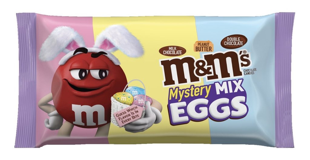 M&M's Mystery Mix Eggs