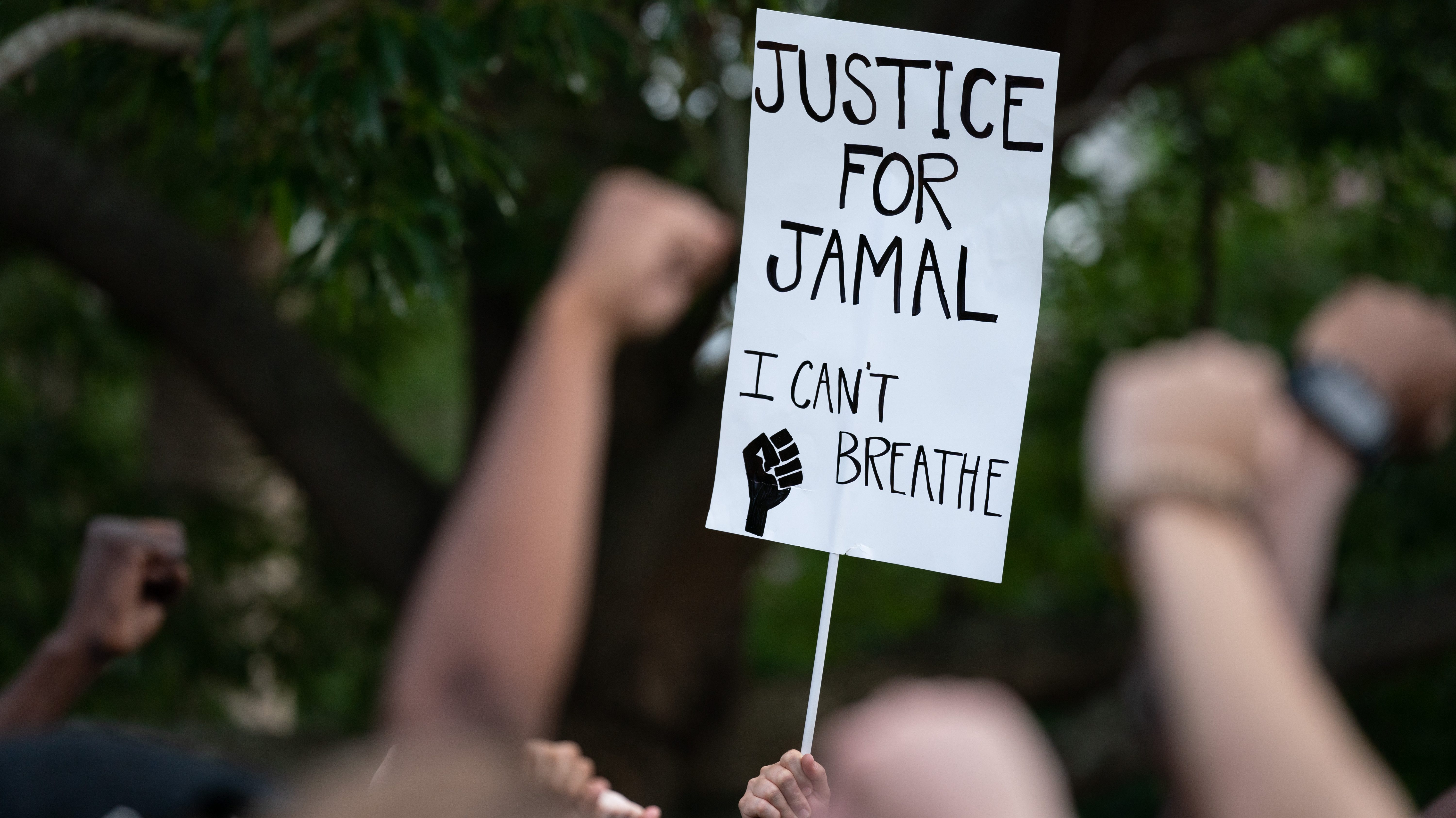 Protest Held Against Sheriff's Office In Charleston In Death Of Mentally Ill Man