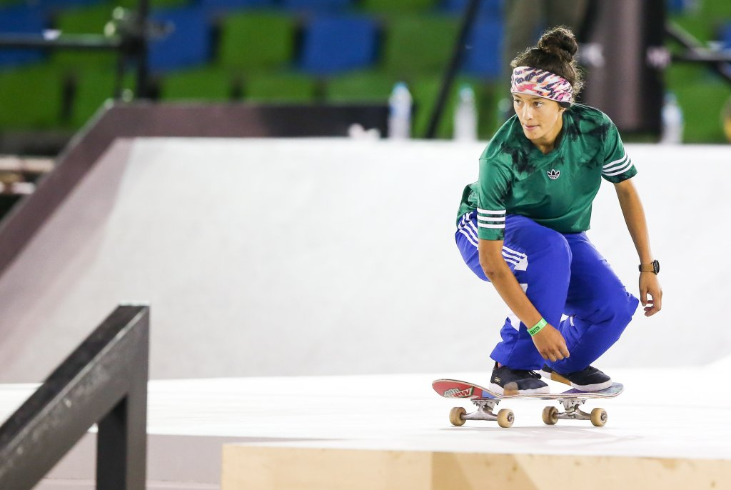 Mariah Duran of the United Satates competes during the finals of the WS/SLS 2019 World Championship at Parque Anhembi on September 22, 2019 in Sao Paulo, Brazil.