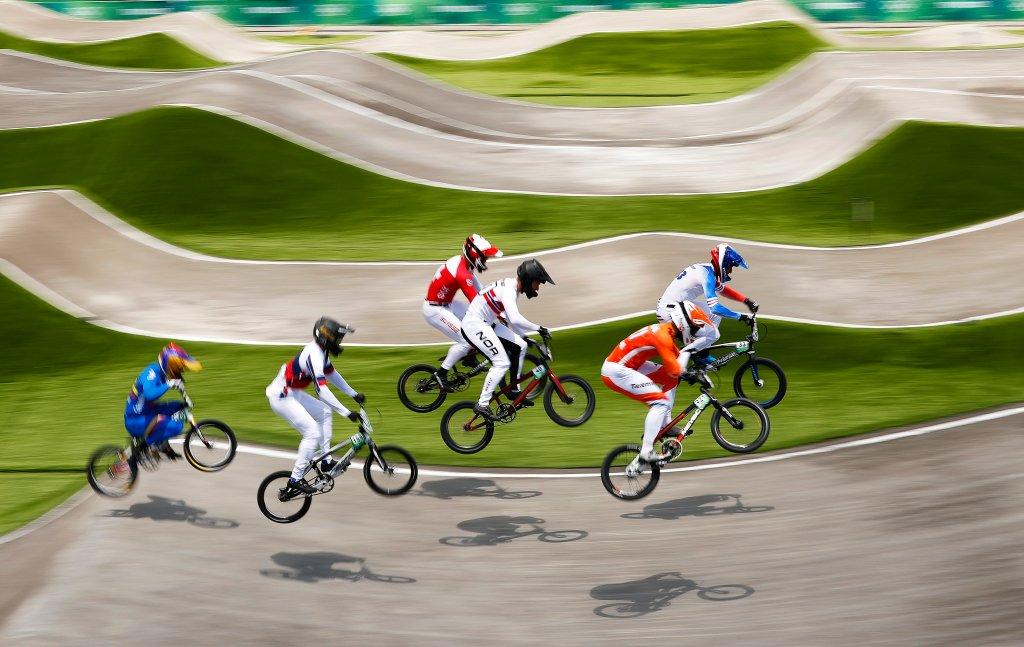 Men's BMX quarterfinal