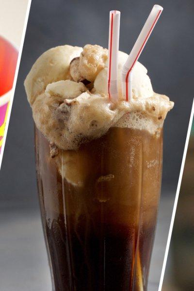 Slurpee, Root Beer Float, Ice Cream
