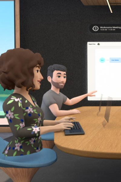 Facebook's new Horizon Workrooms is a remote-working app for its virtual reality Oculus Quest 2 headsets.