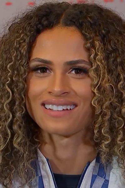Olympian Sydney McLaughlin smiles