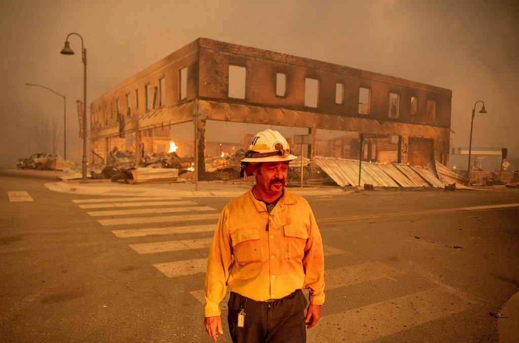 Dixie fire Greenville, California