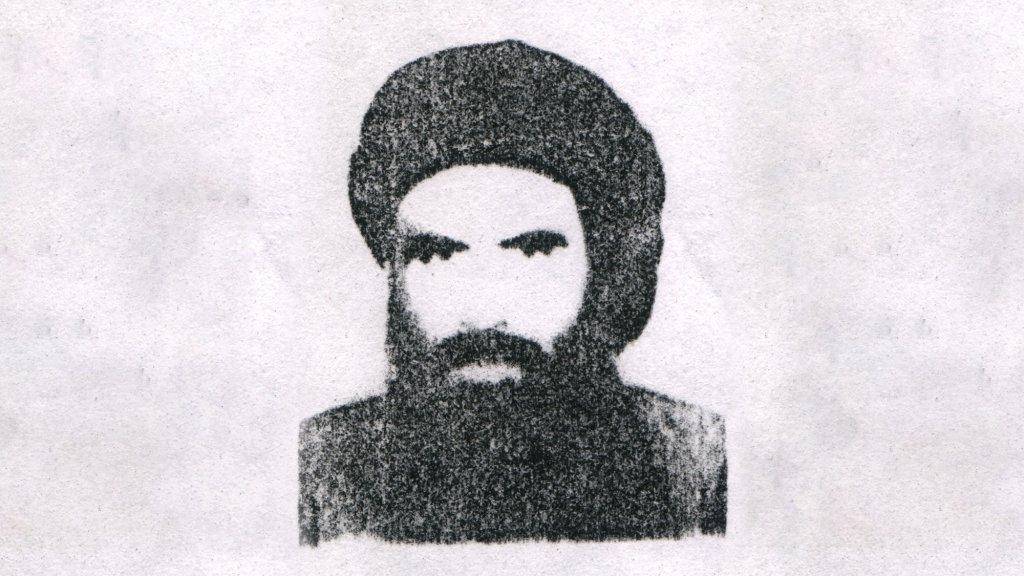 Mullah Omar, chief of the Taliban, seen in this undated headshot.