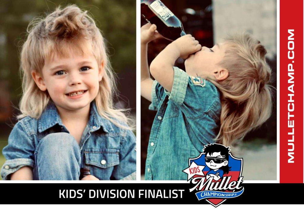 Mullet Champ USA Kids Division 2021 Tatum Delfs